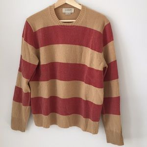 Men's Striped J Crew Pullover